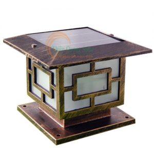 Đèn trụ cổng năng lượng mặt trời TQS-3018-25cm
