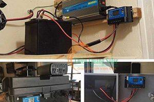 Bộ điều khiển sạc năng lượng mặt trời SR-DH100